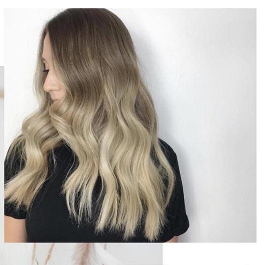 Balayage V Ombre Hair Colours