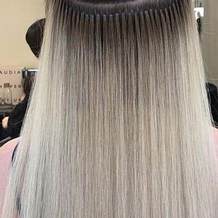 Keratin Hair Extensions Image London Salons in Bermondsey and Streatham