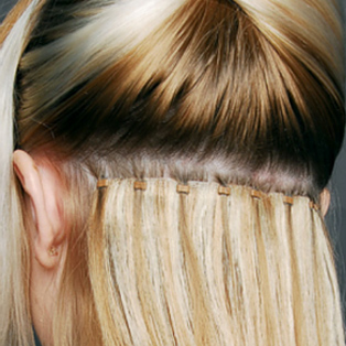 Micro Weave Hair Extensions Image London Salons in Bermondsey and Streatham