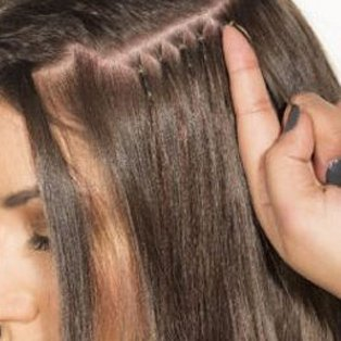 Nano Hair Extensions Image London Salons in Bermondsey and Streatham